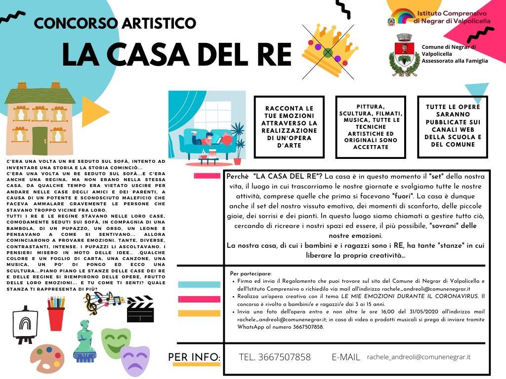 """Comune Di Arcugnano Concorsi concorso artistico """"la casa del re"""" – istituto comprensivo"""